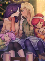 Rarijack Christmas by LooknamTCN