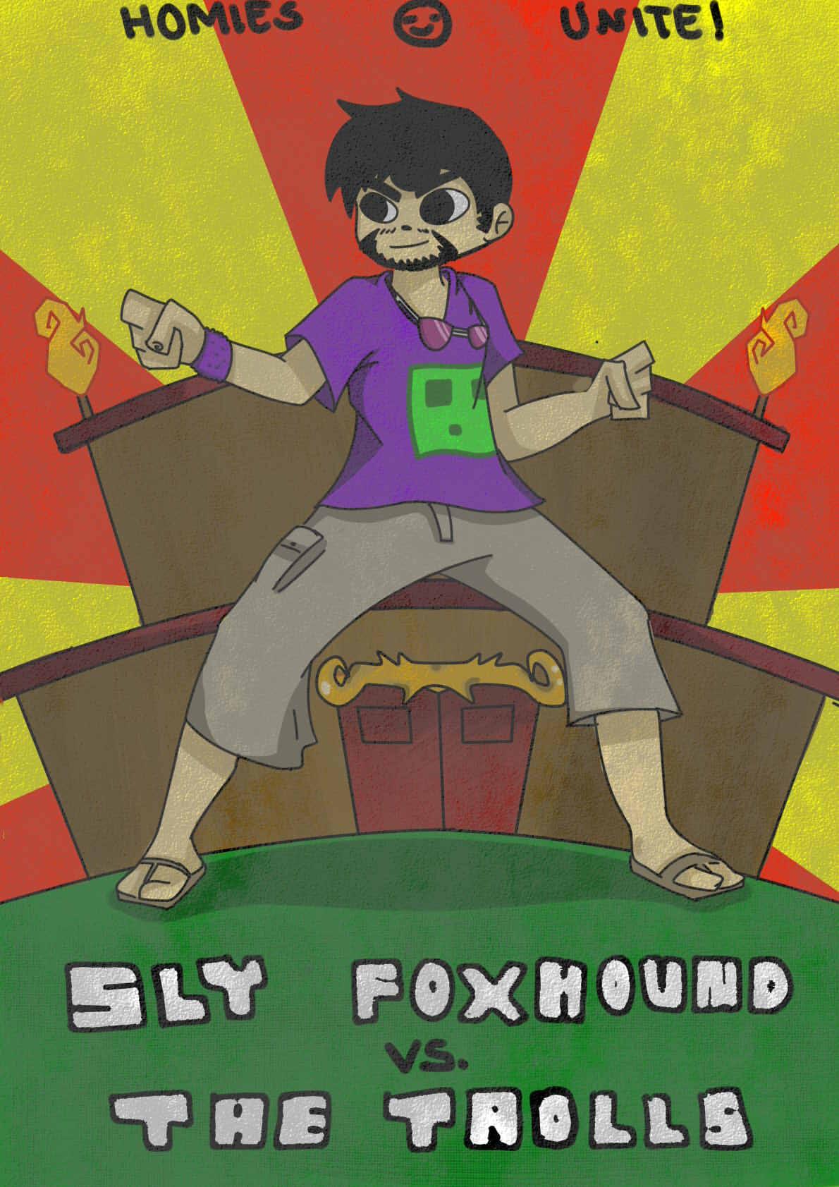 Slyfoxhound Wallpaper - Viewing Gallery Uberhaxornova Fan Art