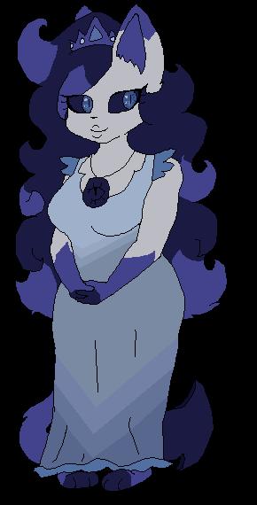 Blueberry Mom by CandyPurpleCat