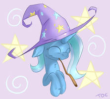 Trixie is best widard by TheDerpyEnthusiast