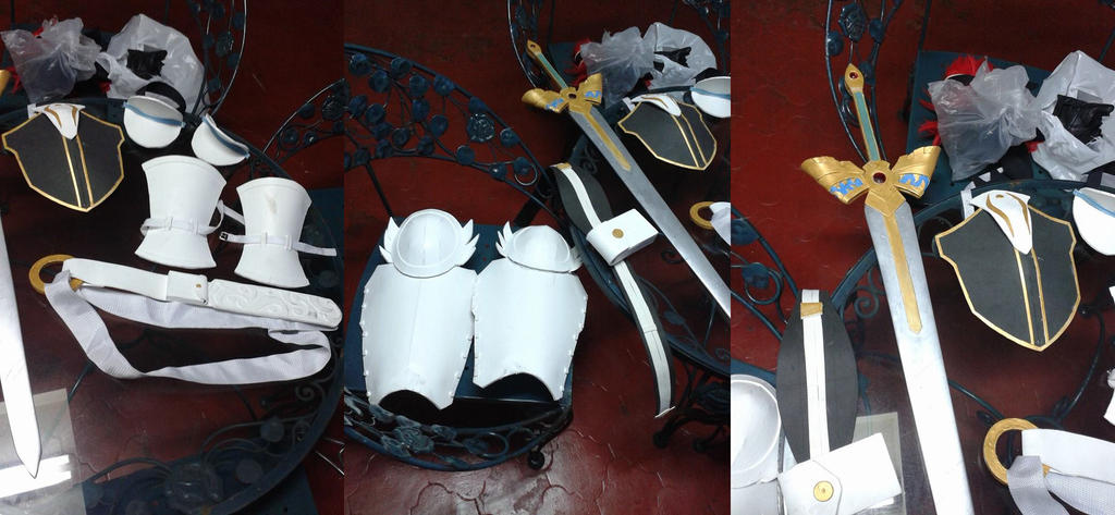 FE Roy DLC Cosplay Props by Jujupancakes
