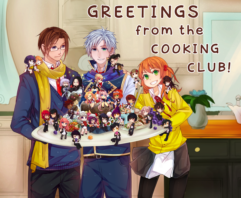 MM Cooking Club Poster By Jujupancakes