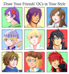 Draw Your Friends' OCs in your Style Meme2