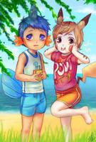 Pok'emon: Let's surf by Innocent-raiN