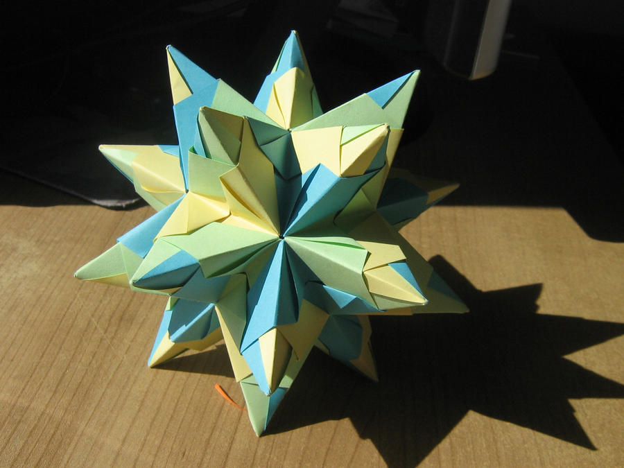 Modular Spiky star (bright) by Melsaran