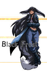 Black Frost: Cover 1