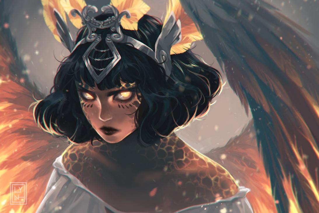 Joan of Arc Molten Phoenix by lyn-chyan