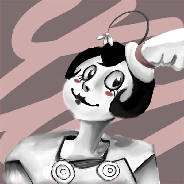 Mimi the Mime by CrimsonSilk