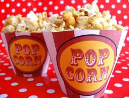 PopcornCupcakes. by RebeccaRoseBrine