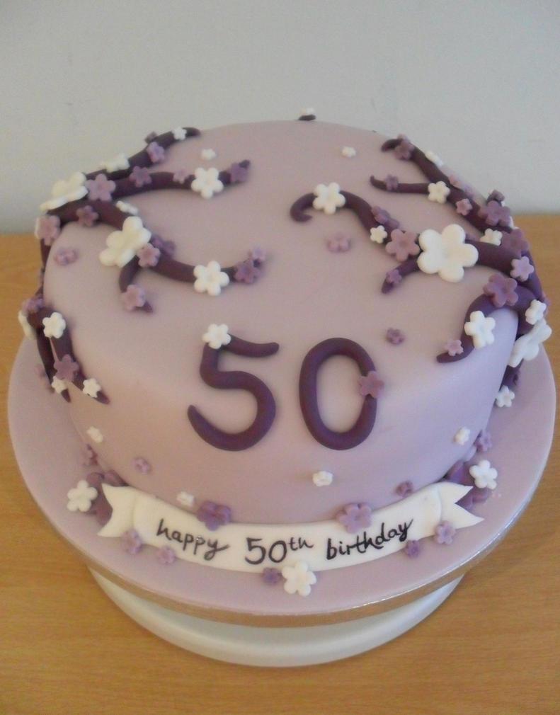 50th birthday cake by rebeccarosebrine on deviantart for 50th birthday cake decoration