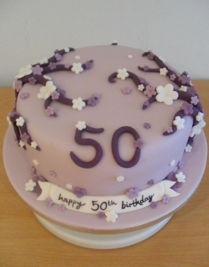 50th Birthday Cakes For Women Cake Ideas Best