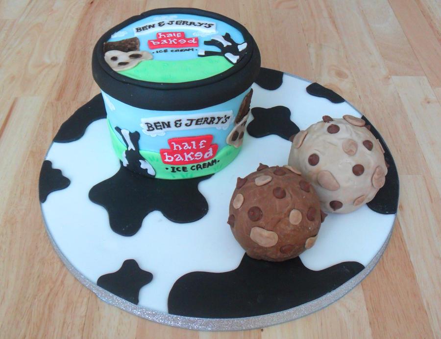 Ben n Jerrys Cake by RebeccaRoseBrine on DeviantArt