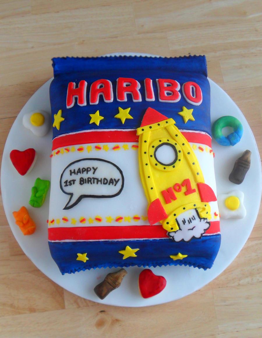 Haribo Cake. by RebeccaRoseBrine