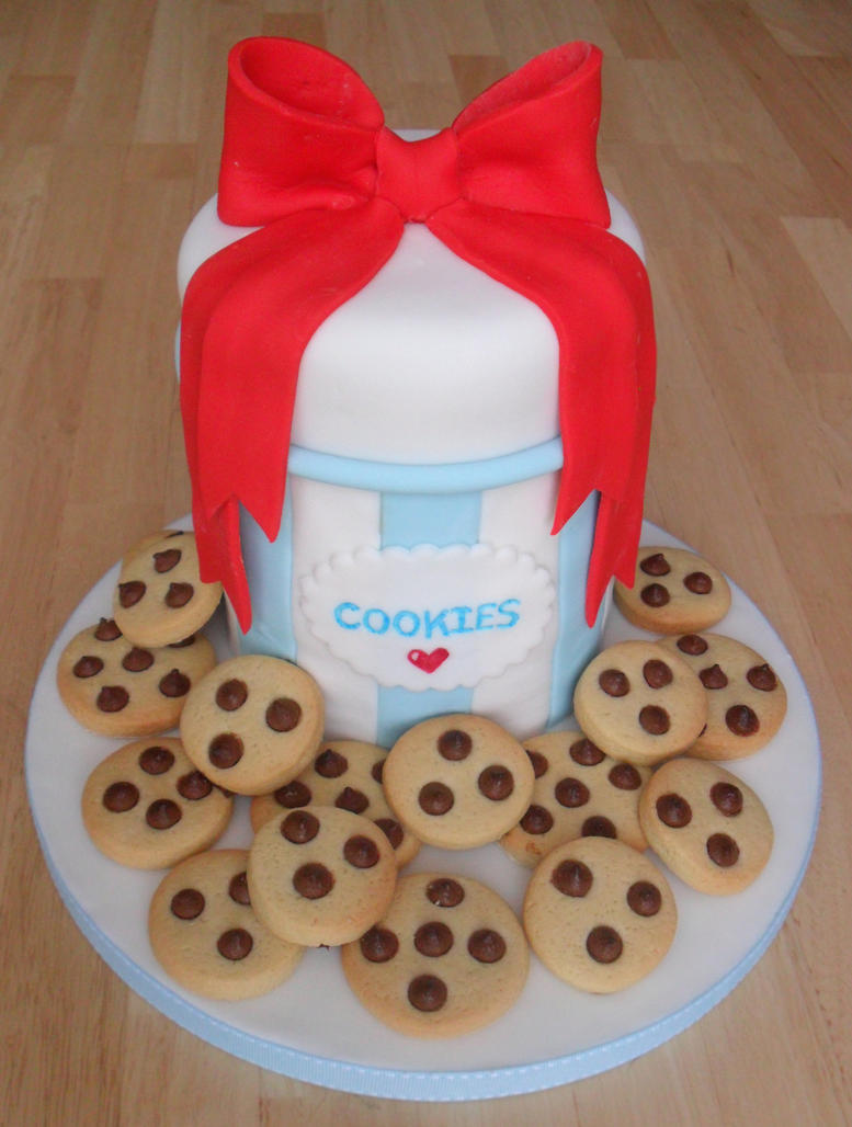 Cookie Jar Cake. by RebeccaRoseBrine