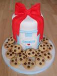 Cookie Jar Cake.