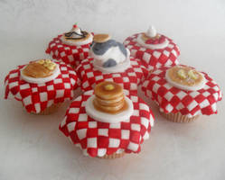 Pancake Cupcakes. by RebeccaRoseBrine