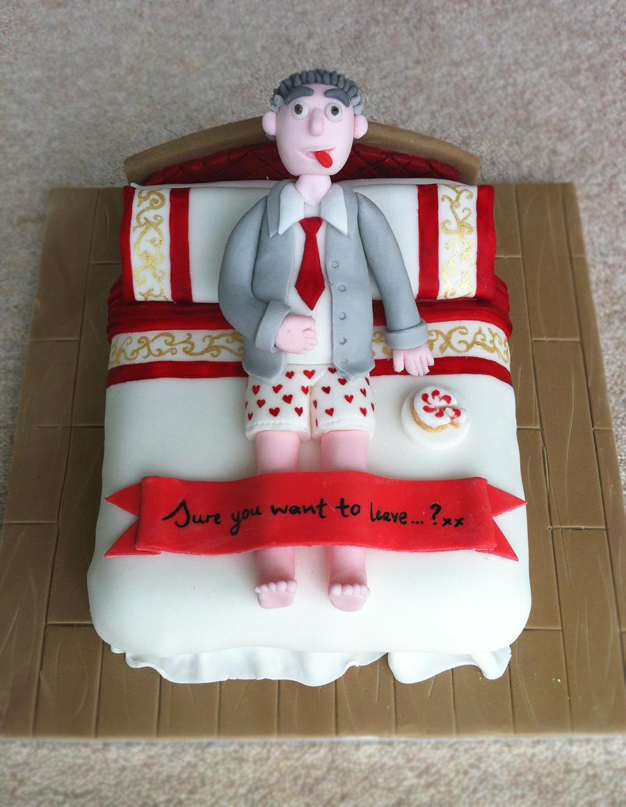Leaving Cake. by RebeccaRoseBrine