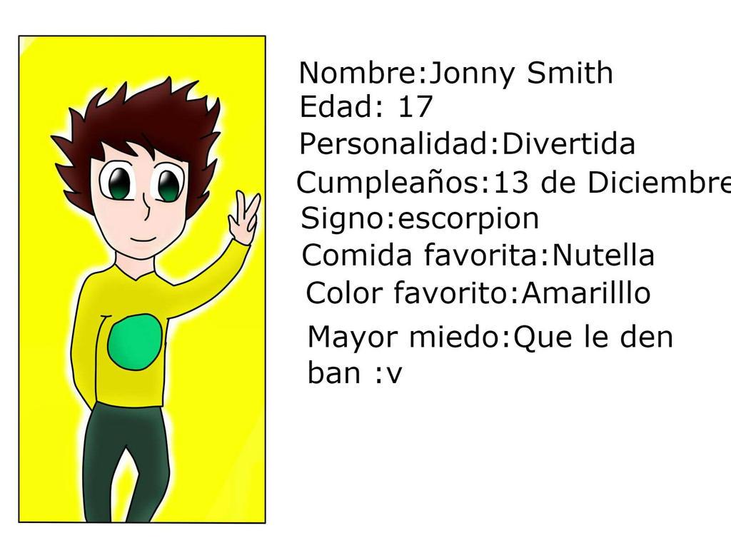Jonny info by Sansy61