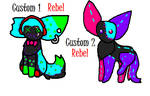 Stitch Cat Custom Batch 4 by 17kittycats