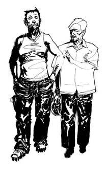Wolverine And Fishtank Inks