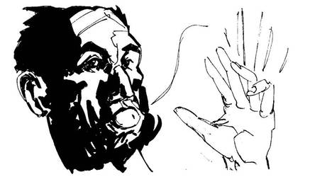Wolverine I love ears Inks by PSNaddw