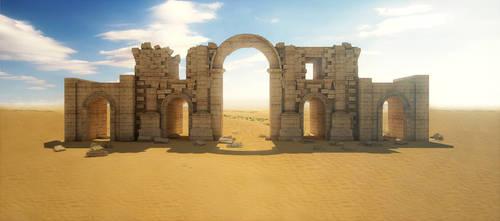Sand landscape by Belolis