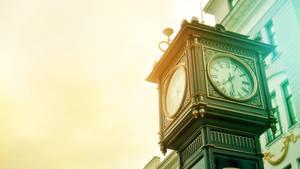 Clock in Ekaterinburg by Belolis
