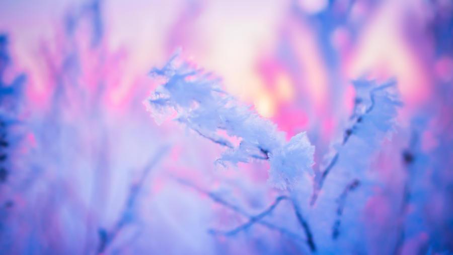 Winter snow Sarapul by Belolis