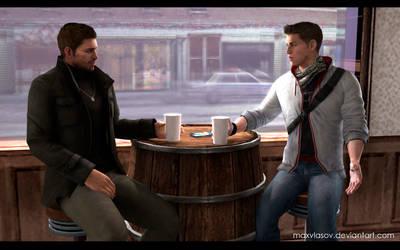 Winter morning at Jake's Bar [NivanField] by MaxVlasov