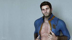 Nathan. A hottiest Fallout fan! Wallpapper