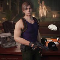 [RE2R] Leon needs some break by MaxVlasov