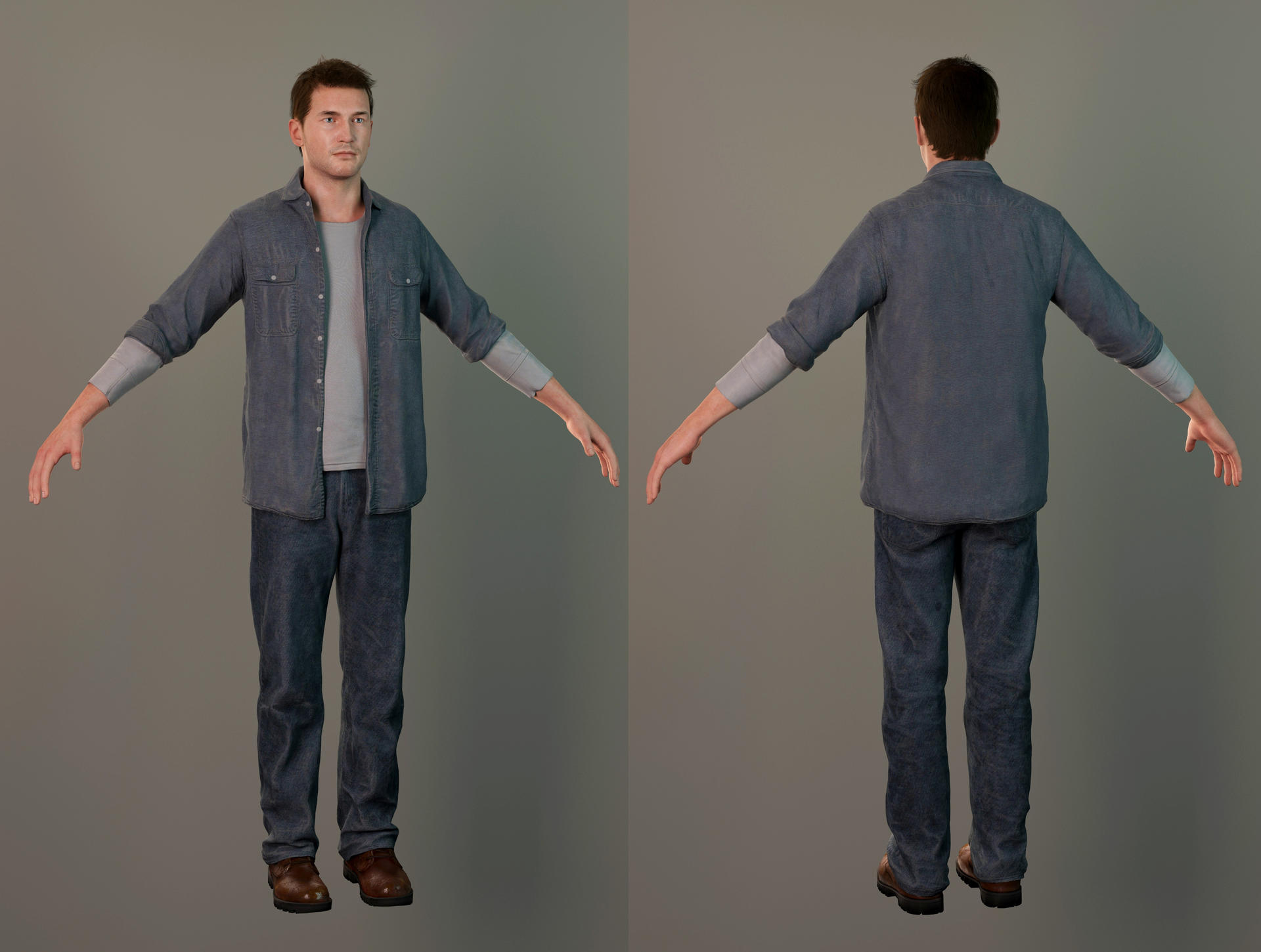 Uncharted 4 Nathan Prison Outfit By Maxvlasov On Deviantart