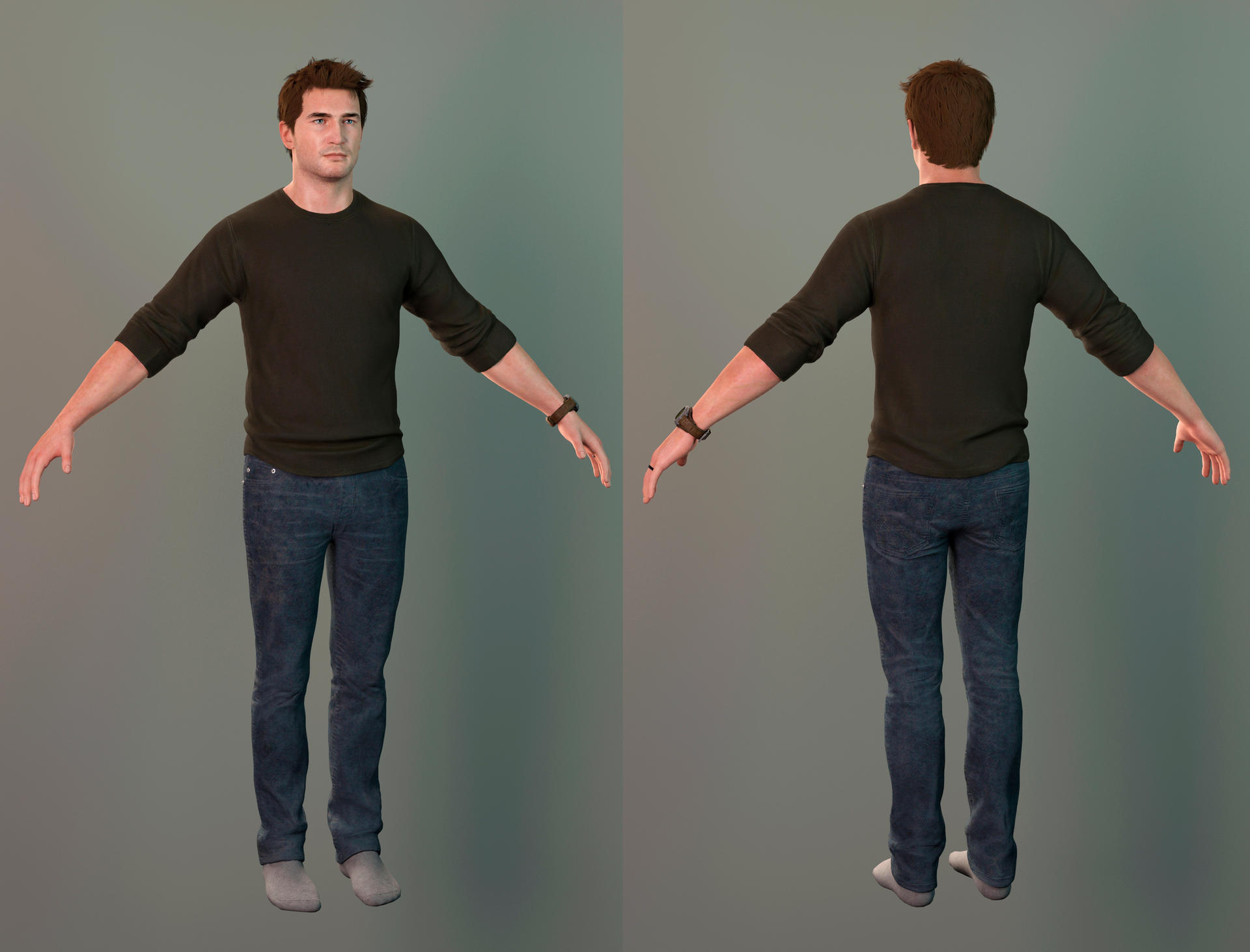 Uncharted 4 Nathan Home Outfit By Maxvlasov On Deviantart