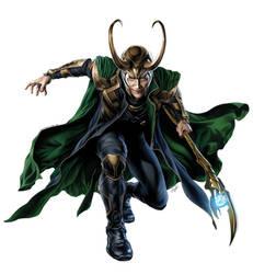 Loki by msavengerart