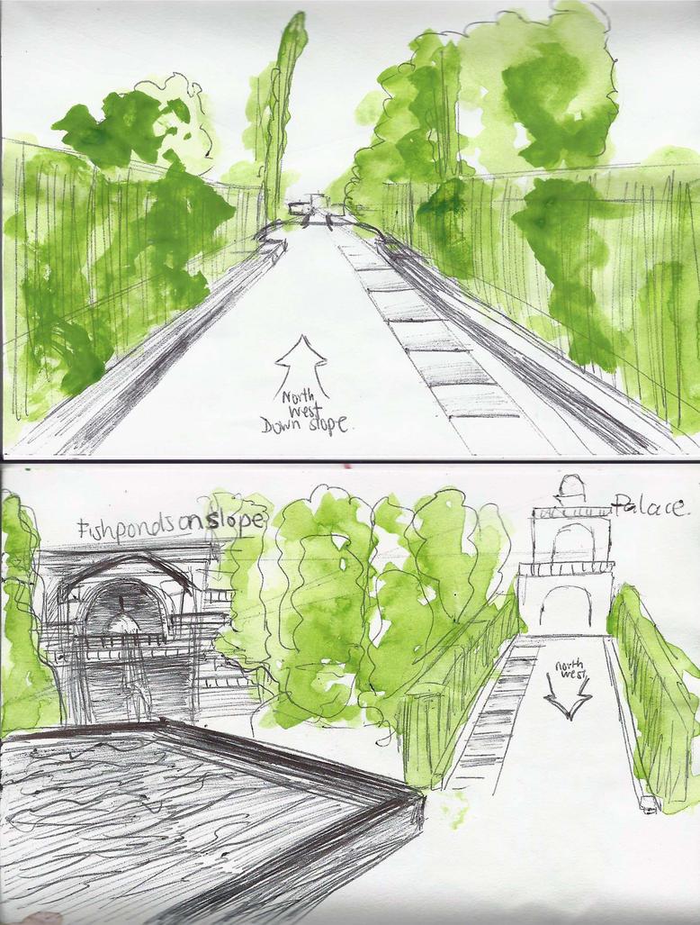 Sketchbook Sundays - Slopes by pinkyaliya