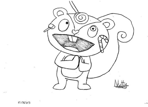 happy tree friends coloring pages - photo#27