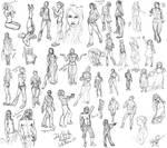 DevStock Reffed Sketches 6 by purplerebecca