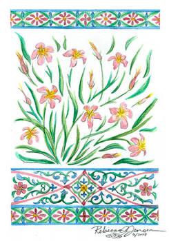 Decor: Pink Flowers