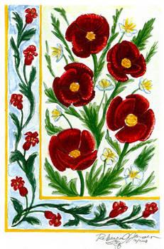 Decor: Poppies