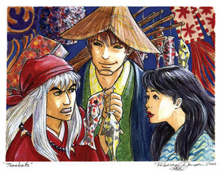 Commission: Tanabata by purplerebecca