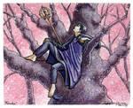 Commission: Miroku by purplerebecca