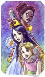 The Girls by purplerebecca