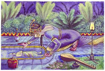 The Water Seer by purplerebecca