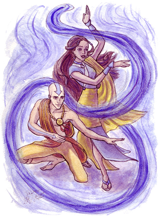 AtLA: Water with Air by purplerebecca