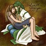 Haku,Chihiro: I Will Carry You by purplerebecca