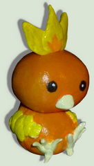 Figure of the cute Torchic ^^