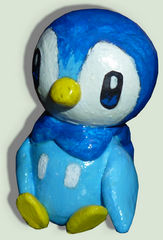Handmade figure of Piplup