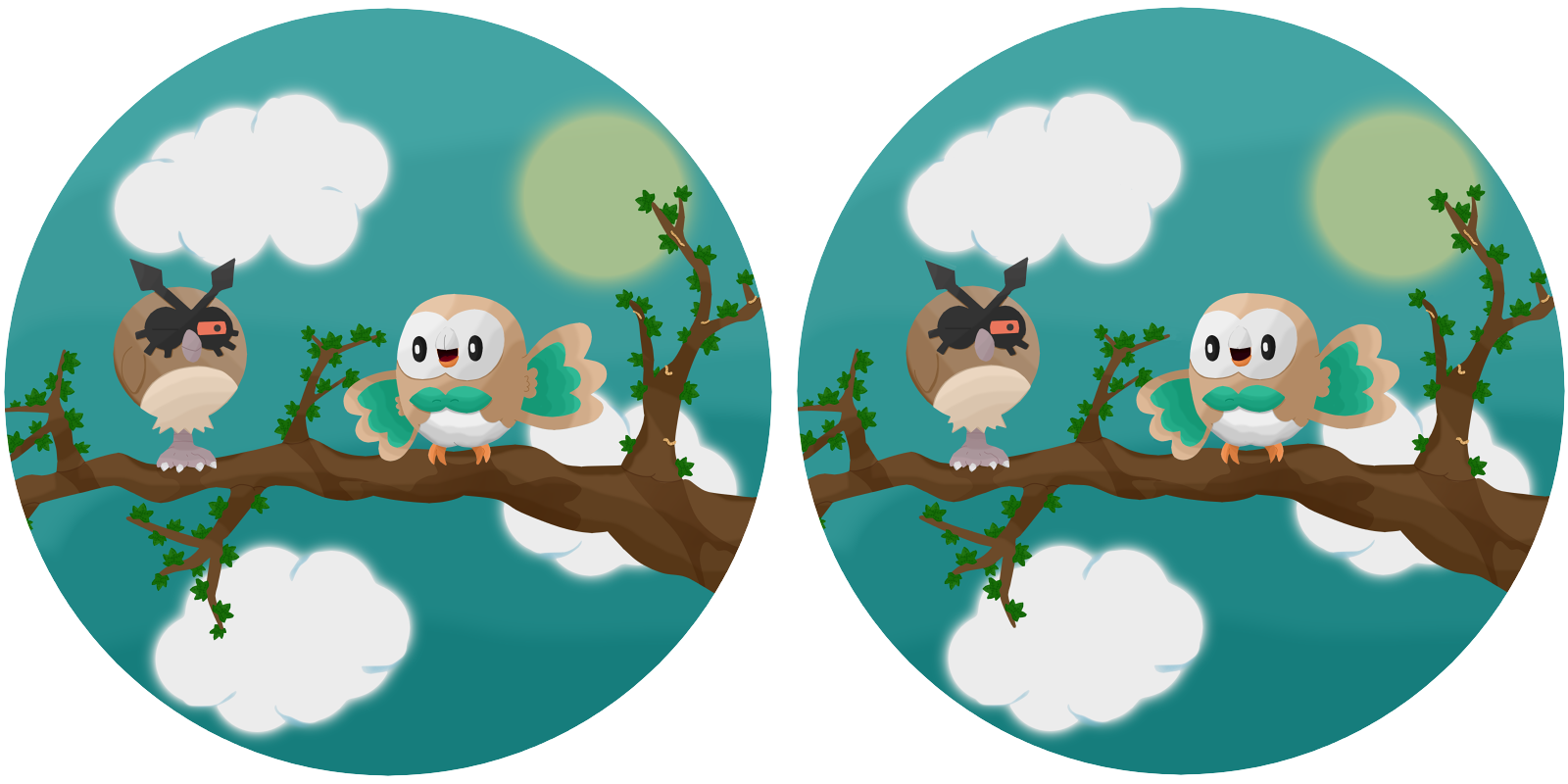 Spot the difference rowlet and hoothoot by thelittlelight on spot the difference rowlet and hoothoot by thelittlelight altavistaventures Choice Image
