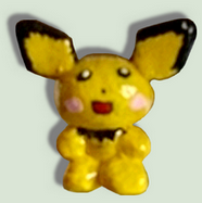My 6th pokemon figure, the cute Pichu by TheLittlelight