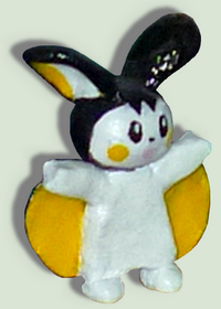 The cute Emolga by TheLittlelight